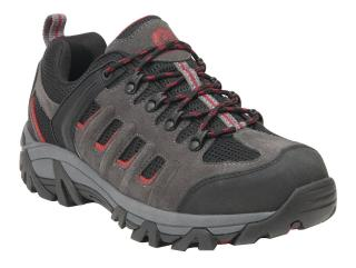 King's Low-Cut Industrial Hiker Work Shoes - Gray