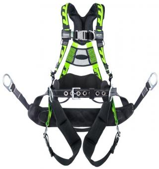 Miller ACT-QCBCUG AirCore Steel Tower Climbing Harness
