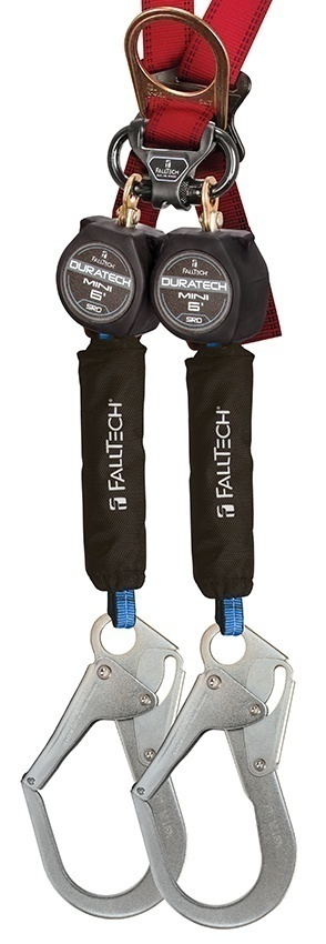 FallTech 6 Foot DuraTech Mini Twin Leg SRD