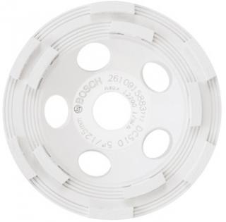 Bosch 5 Inch Double Row Segmented Diamond Cup Wheel for Concrete