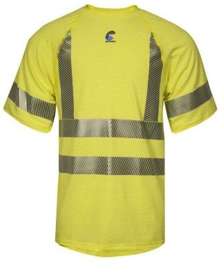 National Safety Apparel Class 3 Hi-Vis FR Control 2.0 Base Layer T-Shirt