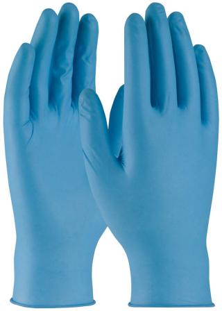 PIP Ambi-dex 8 Mil Super 8 Disposable Powdered Nitrile Gloves with Textured Grip (Box of 50)
