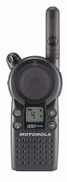Motorola CLS1410 On-Site Two-Way Radio