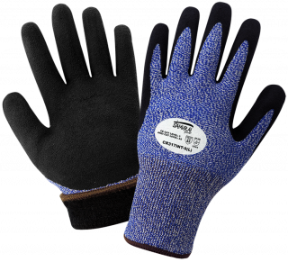Samurai Glove Insulated Water Repellent Dipped Gloves - 12 Pair