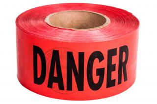 Columbia Safety Danger Barricade Tape By Milwaukee