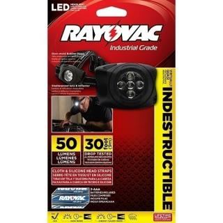 Rayovac Virtually Indestructible 3AAA LED Headlight