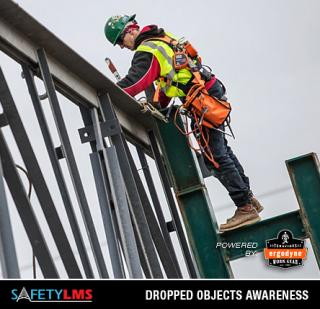 Safety LMS Dropped Objects Awareness Online Course (Powered by Ergodyne)