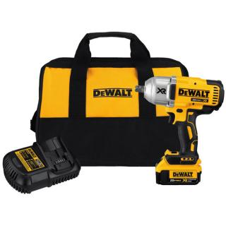 DEWALT 20-Volt Max XR Cordless Brushless High Torque 1/2 Inch Impact Wrench Kit