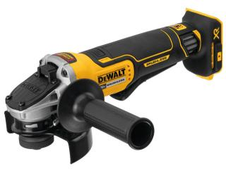 DeWalt 20V MAX XR Flathead Paddle Switch Small Angle Grinder with Kickback Brake