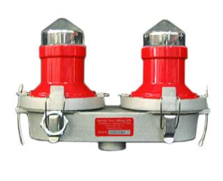 FAA A0 Light System, OL2V LED, L810 Steady Burning Double Obstruction Light