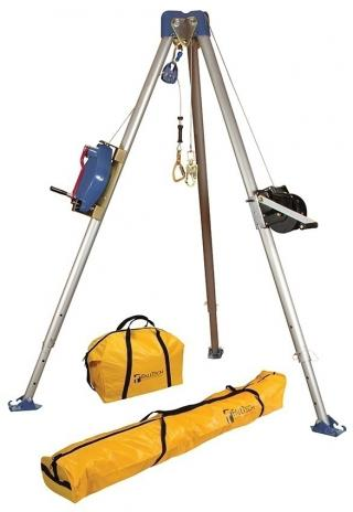 FallTech 7504 Tripod Kit With Galvanized Cable