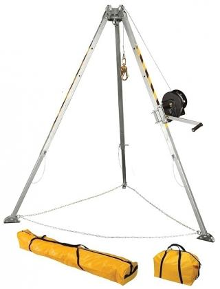 FallTech 7507 Tripod Kit With Galvanized Cable