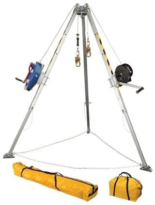 FallTech 7509 Tripod Kit With Galvanized Cable