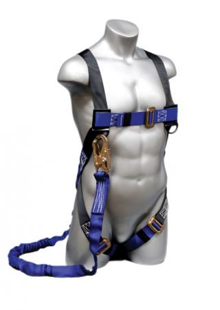 Elk River 48013 ConstructionPlus Harness with NoPac Lanyard