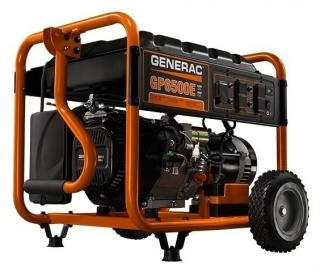 Generac GP Series 6500E Electric Start Portable Generator