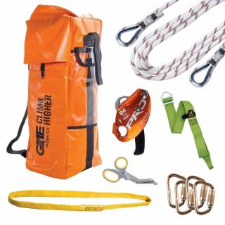GME Supply 9025 7/16 Inch Rope Rescue Kit