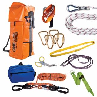 GME Supply 9026 7/16 Inch Rope Standard Rescue Kit