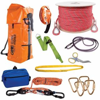 GME Supply 9126 1/2 Inch Rope Standard Rescue Kit