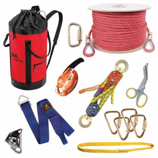 GME Supply 9150 1/2 Inch Rope Deluxe Rescue Kit