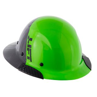 Lift Safety DAX Green Fifty 50 Carbon Fiber Full Brim Hard Hat (Exclusive)
