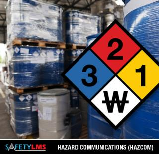 Hazard Communications (Hazcom) Training Course - Online Certification from Safety LMS