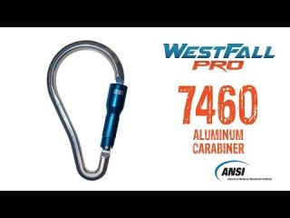 7460 WestFall Pro 9 X 5in. Aluminum Carabiner 2in. Gate