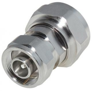RF Industries Low PIM 4.1/9.5 (Mini) DIN Male to 7/16 Din Male Adapter