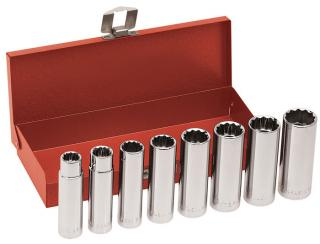 65514 8-Piece 1/2-Inch Drive, Deep-Socket Wrench Set