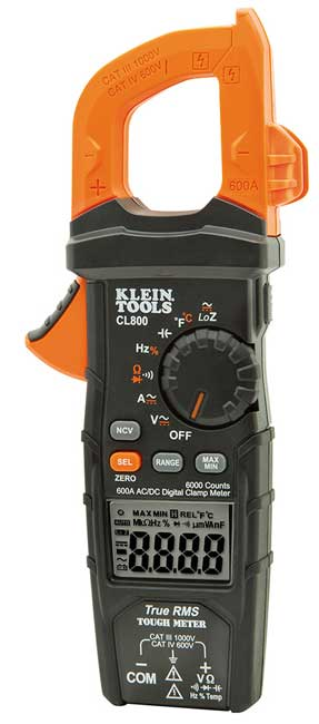 Digital Clamp Meter AC/DC Auto-Ranging