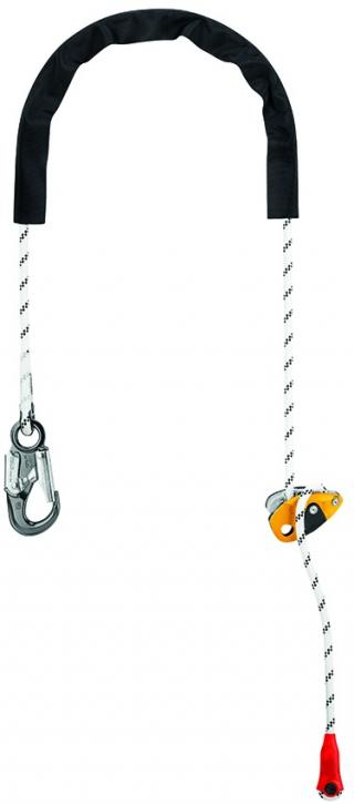 Petzl L052CA GRILLON HOOK U Adjustable Positioning Lanyard