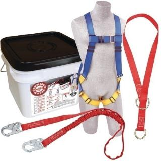 Protecta Compliance In a Can Light Roofers Fall Protection Kit with Tie-Off Adapter