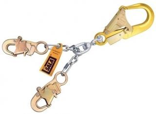 DBI Sala Chain Rebar Positioning Lanyard with Aluminum Rebar Hook