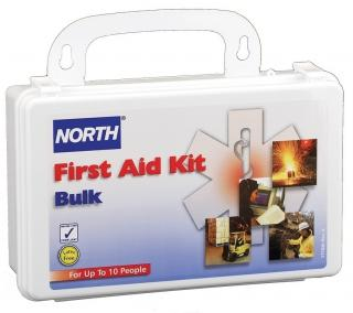 North Safety 10 Person Bulk First Aid Kit