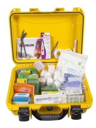 North Safety 68WP3-01 Waterproof First Aid Kit - 50 Person