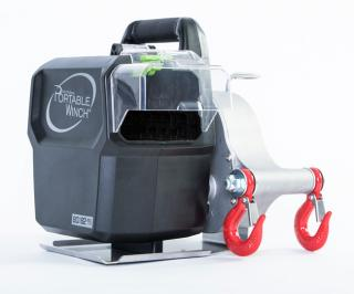 Portable Winch Battery Powered Pulling Winch 80/82V