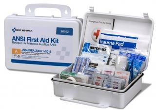 First Aid Only 25 Person Class A Bulk First Aid Plastic Kit