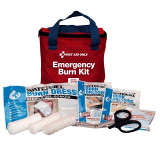 First Aid Only Soft Pouch Burn Kit - 13 Piece