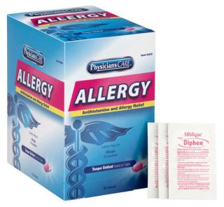 First Aid Only PhysiciansCare Antihistamine Allergy Medication
