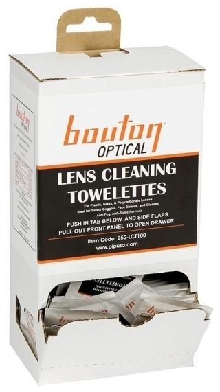 Bouton Optical Lens Cleaning Towelettes (Box of 100)