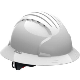 JSP 6161 Evolution Deluxe Full Brim Non-Vented Hard Hat