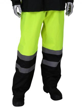 PIP Falcon Viz Ripstop Rain Pants with Removable Suspenders