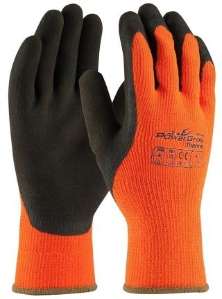 ProwerGrab Thermo Hi-Vis Orange Acrylic Gloves
