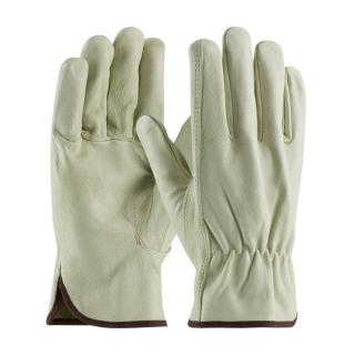 PIP Economy Grade Top Grain Pigskin Leather Driver's Glove (12 Pair)