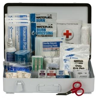 First Aid Only 50 Person ANSI B First Aid Metal Kit