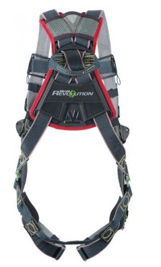 Miller Revolution Arc-Rated Harness with Rescue Loops