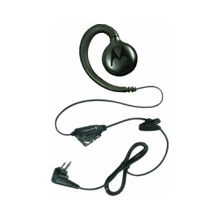 Motorola HKLN4604 Swivel Earpiece with In-Line Push-to-Talk Microphone