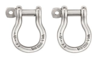 Petzl Shackles for ASTRO and SEQUOIA Harnesses (2 Pack)