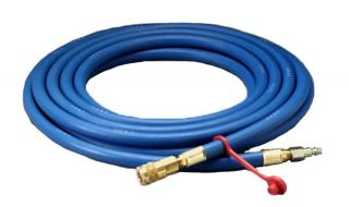 W-9435 3M™ Supplied Air Hose 50 ft, 3/8 in ID, Industrial Interchange Fittings, High Pressure