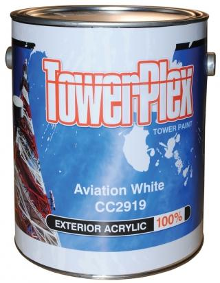 TowerPlex Aviation White Tower Paint - 5 Gallon Pail