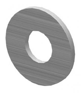 3/8 Inch Galv.Flat Washer-100 pack